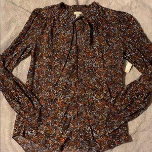 Nordstrom Floral shirt